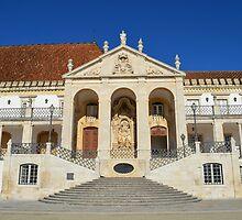 Grand entrance to Coimbra University  by juliedawnfox