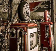 Gas Pumps by Trevor Middleton