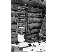An Old Cabin Photographic Print