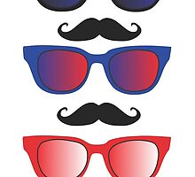 Glasses with Moustaches by Thomas Micallef