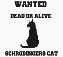 Wanted Dead or Alive Schrodingers Cat by AlexFrost