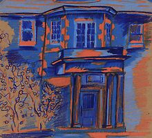 Blue House by amickels