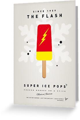 My SUPERHERO ICE POP - The Flash by Chungkong