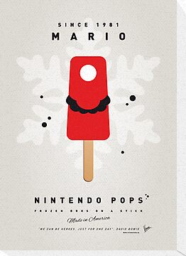 My NINTENDO ICE POP - Mario by Chungkong
