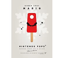 My NINTENDO ICE POP - Mario Photographic Print