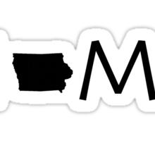 IOWA HOME Sticker