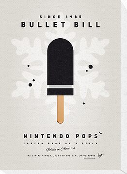 My NINTENDO ICE POP - Bullet Bill by Chungkong