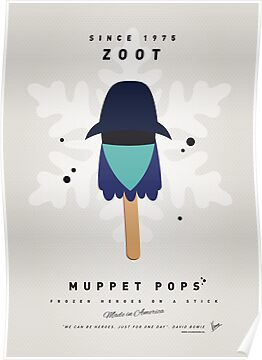 My MUPPET ICE POP - Zoot by Chungkong