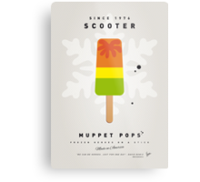 My MUPPET ICE POP - Scooter Metal Print