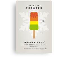 My MUPPET ICE POP - Scooter Canvas Print