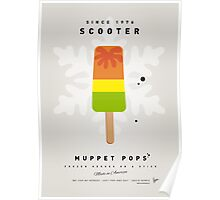 My MUPPET ICE POP - Scooter Poster