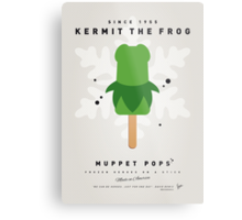 My MUPPET ICE POP - Kermit Metal Print