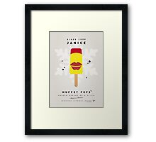 My MUPPET ICE POP - Janice Framed Print