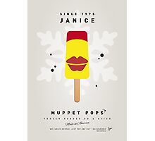 My MUPPET ICE POP - Janice Photographic Print