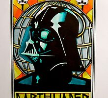 Darth Vader Art Nouveau by weronikart