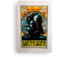 Darth Vader Art Nouveau Canvas Print
