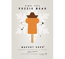 My MUPPET ICE POP - Fozzie Bear Photographic Print