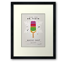 My MUPPET ICE POP - Dr Teeth Framed Print
