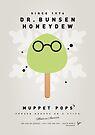 My MUPPET ICE POP - Dr Bunsen Honeydew by Chungkong