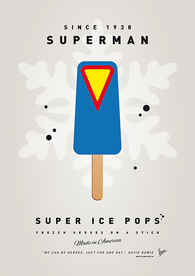 My SUPERHERO ICE POP - Superman by Chungkong
