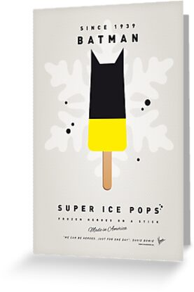 My SUPERHERO ICE POP - BATMAN by Chungkong