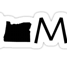 OREGON HOME Sticker