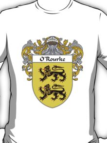 O'Rourke Coat of Arms / O'Rourke Family Crest T-Shirt