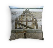 The Old Pier Of Fahan Throw Pillow