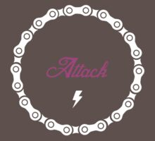Attack - Pink Kids Clothes