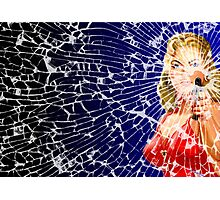 Shattered Again Widescreen Photographic Print