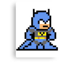 8-bit Batman Canvas Print