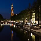 Amsterdam Blue Hour by Georgia Mizuleva