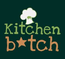KITCHEN B*TCH with chef cooking hat by jazzydevil