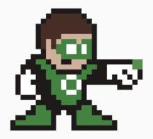 8-bit Green Lantern by 8 Bit Hero