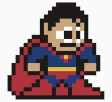 8-bit Superman by groundhog7s