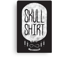 Skull Shirt Canvas Print