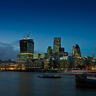 London city skyline by Andrea Rapisarda