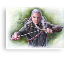Prince of Mirkwood Canvas Print