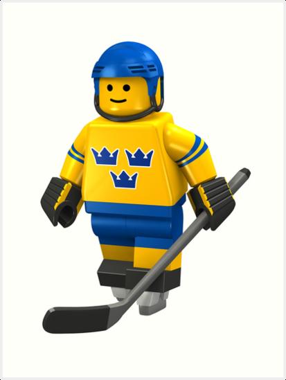 Hockeyplayer sweden by Johannes Wessmark