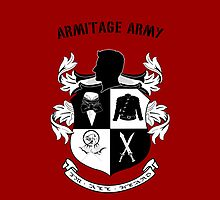 Armitage Army CoA  red Iphone case by CircusDoll