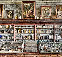The Drug Store Counter by Ken Smith