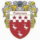 Patterson Coat of Arms / Patterson Family Crest by William Martin