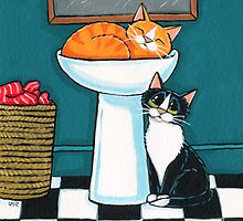 Marmalade's Sleeping by Lisa Marie Robinson