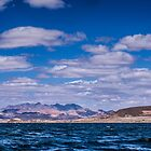 Mountains and Clouds from Lake Mead by onyonet photo studios