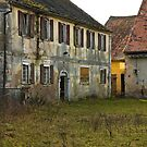 Derelict Water Mill, Höchstadt, Germany. by David A. L. Davies
