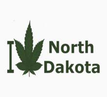 0232 I Love North Dakota by Ganjastan