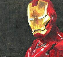 Iron man by acillustrations