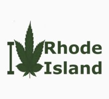 0237 I Love Rhode Island  by Ganjastan