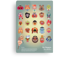 The Muppets A(nimal) to Z(oot) by Marcus Marritt Metal Print
