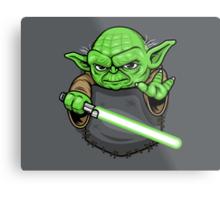 Pocket Jedi Metal Print
